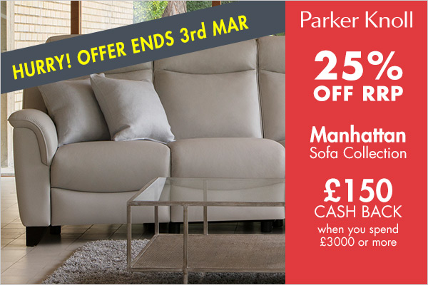 Parker Knoll 25% OFF RRP